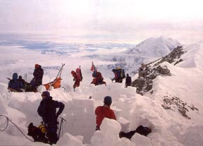 16,200 feet on the West Buttress, May 1994