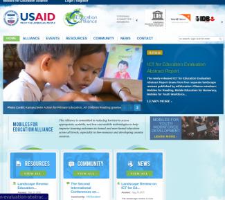 mEducation Alliance screenshot