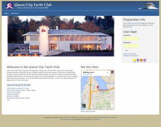 Queen City Yacht Club website